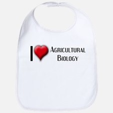 I Love (Heart) Agricultural B Bib
