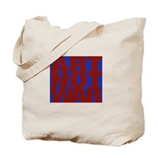 Art Not War Tote Bag