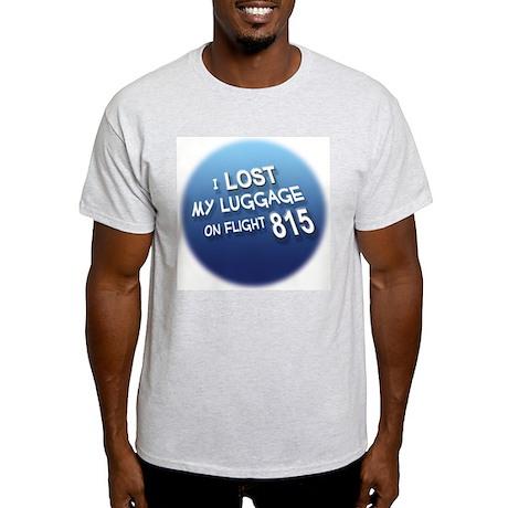 I Lost My Luggage Ash Grey T-Shirt