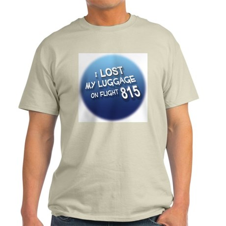 I Lost My Luggage Ash Grey T-Shirt