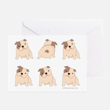 One of These Bulldogs! Greeting Cards (Package of