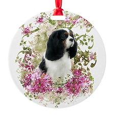 Cavalier Tri Ornament