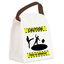 THIS IS SPARTA! Canvas Lunch Bag