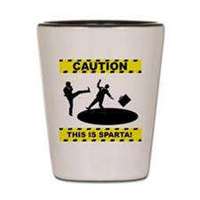 THIS IS SPARTA! Shot Glass