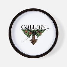 Callan Family Tree --  Wall Clock
