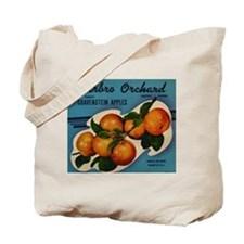 Vintage Fruit Vegetable Crate Label Tote Bag