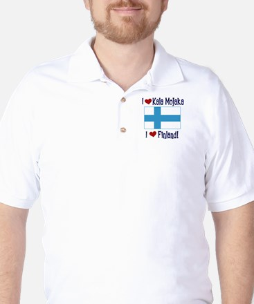 Finland and Kala Mojaka Golf Shirt