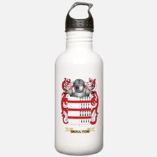 Moulton Coat of Arms - Family Crest Water Bottle