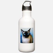 Siamese Blue Water Bottle