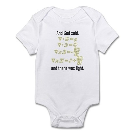 """""""Let There Be Light"""" Infant Bodysuit"""