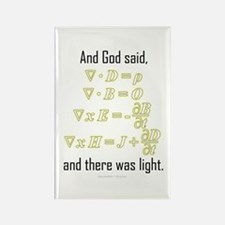"""""""Let There Be Light"""" Rectangle Magnet (10 pack)"""