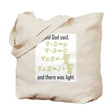 """Let There Be Light"" Tote Bag"