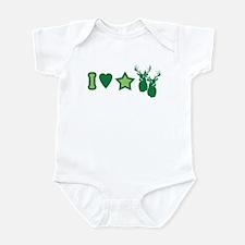 I Love StarBucks Infant Bodysuit