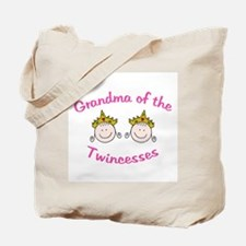 Grandma of Twincesses Tote Bag