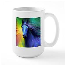 Fresian horse 1 Mug