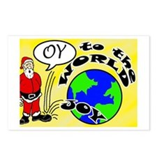 Oy to the World Postcards (Package of 8)