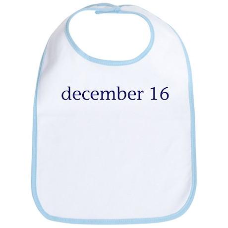 December 16 Bib