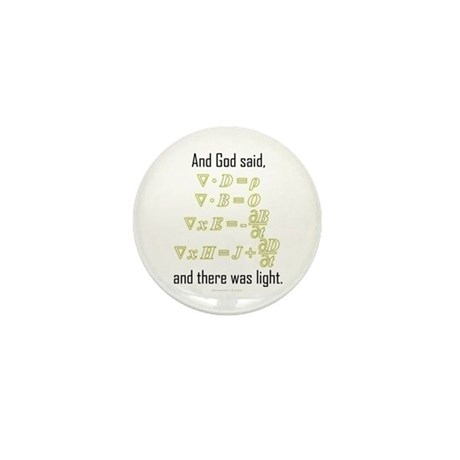 """""""Let There Be Light"""" Mini Button (10 pack)"""