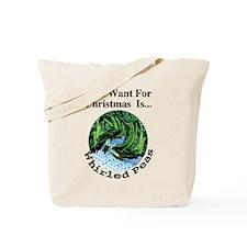 Christmas Peas Tote Bag
