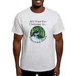Christmas Peas Ash Grey T-Shirt
