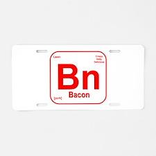 Bacon (Bn) Aluminum License Plate