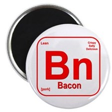 "Bacon (Bn) 2.25"" Magnet (10 pack)"