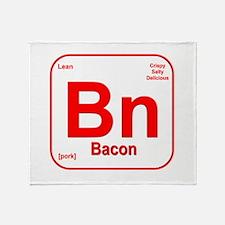 Bacon (Bn) Throw Blanket