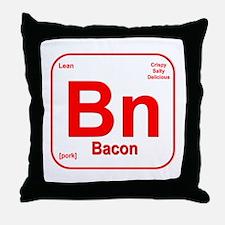 Bacon (Bn) Throw Pillow