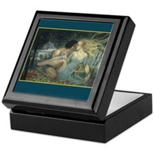 Orpheus and Eurydice Keepsake Box