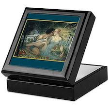 Orpheus and Eurydice Keepsake Box