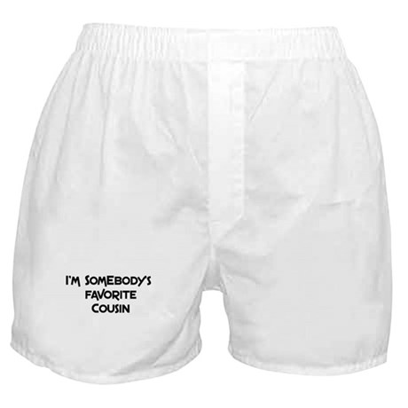 Favorite Cousin Boxer Shorts