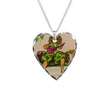 Hawaiian ukulele player Necklace