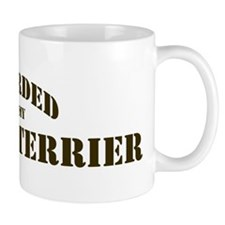 Border Terrier: Guarded by Mug