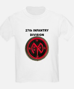 27TH INFANTRY DIVISION Kids T-Shirt
