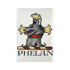 Phelan, from Gaelic for Little Wolf Rectangle Magn