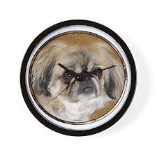 Sadie oval 2.png Wall Clock