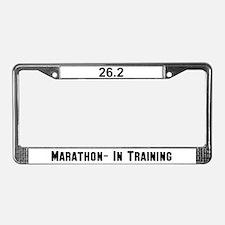 26.2 Marathon License Plate Frame