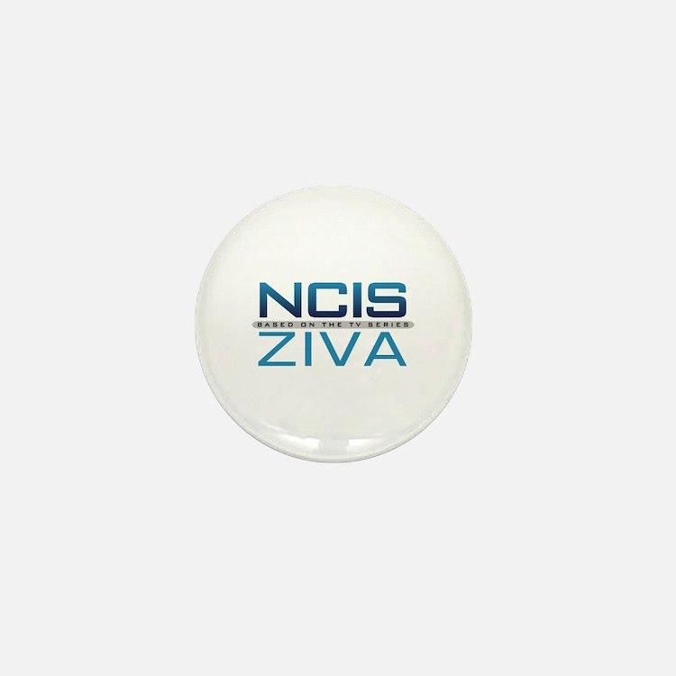 NCIS Logo Ziva Mini Button