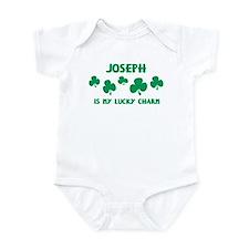 Joseph is my lucky charm Infant Bodysuit