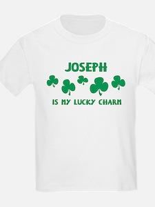Joseph is my lucky charm Kids T-Shirt