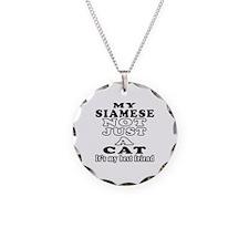 Siamese Cat Designs Necklace