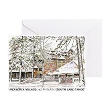 Heavenly Village~South Lake Tahoe Greeting Cards (
