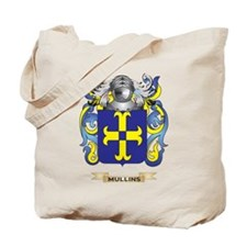Mullins Coat of Arms - Family Crest Tote Bag