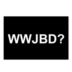 WWJBD Postcards (Package of 8)