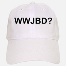 WWJBD Baseball Baseball Cap