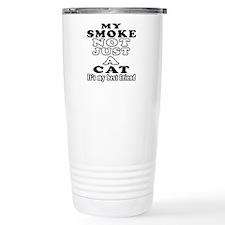 Smoke Cat Designs Travel Coffee Mug