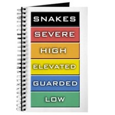 Snakes on a Plane Terror Alert Journal