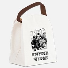 Switch Witch Canvas Lunch Bag