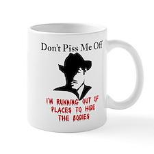 The gangsters warning Mug