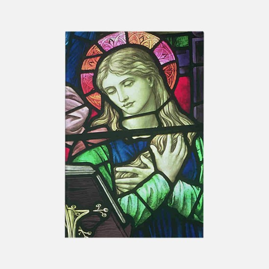 Mary by Holiday Rectangle Magnet